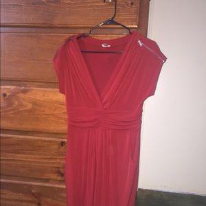Women's red dress(not jcrew)